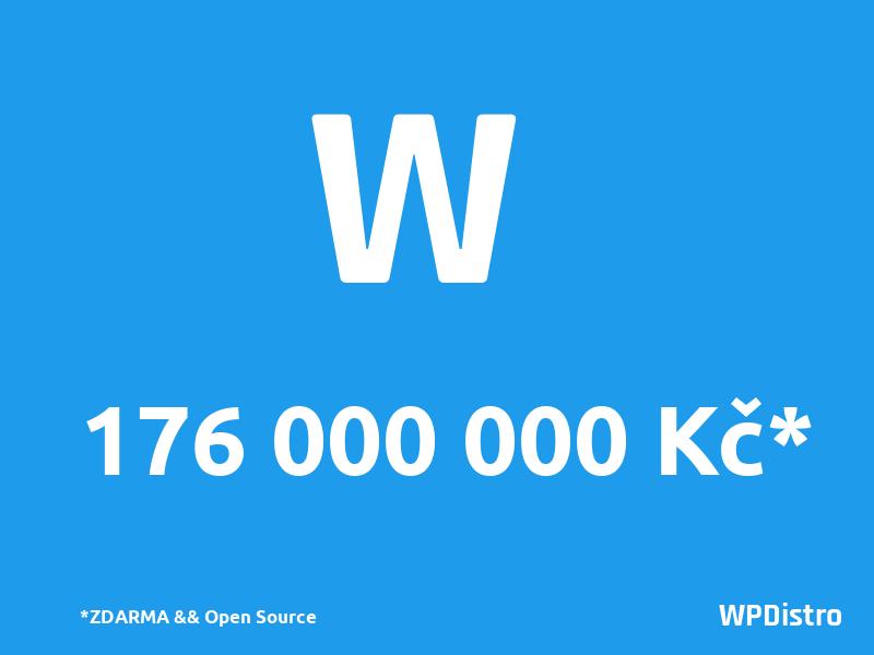 Cena WP je 176 mil. korun