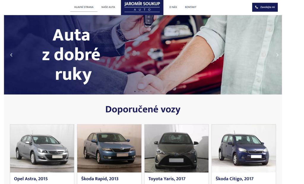 AutoSoukup.cz | Katalog aut od WPDistro.cz