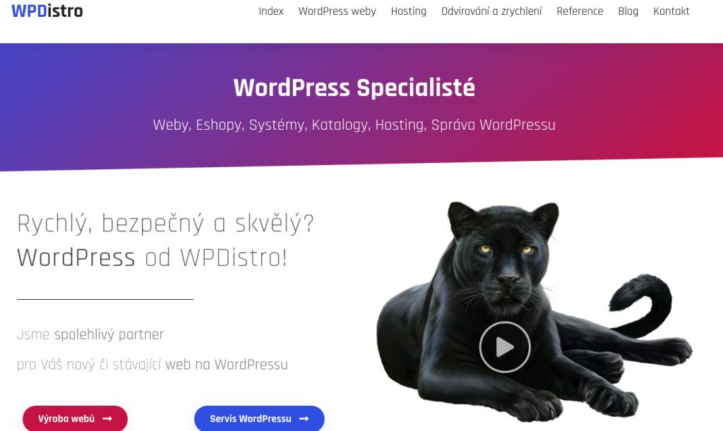 HightEnd WordPress?   ANO   WPdistro.cz