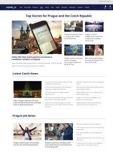 Redesign zpravodajského webu