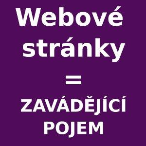 Webové stránky - pojem